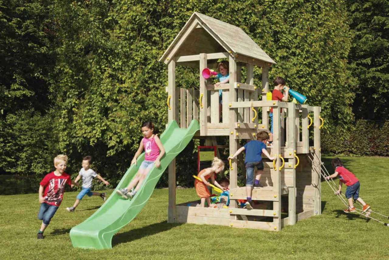 Spielturm Holz Penthouse von Blue Rabbit in Douglasie