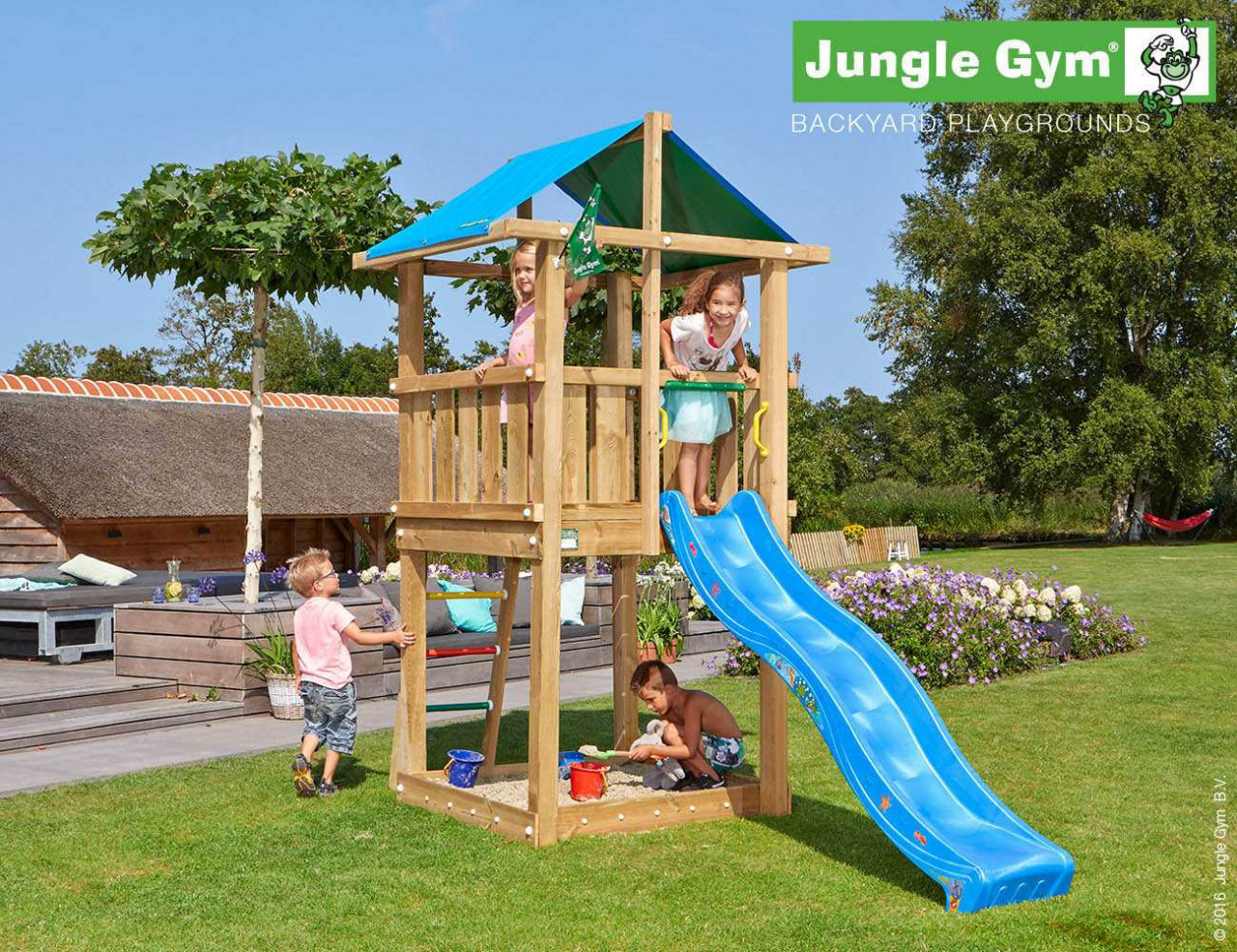 Spielturm Garten Jungle Gym Hut