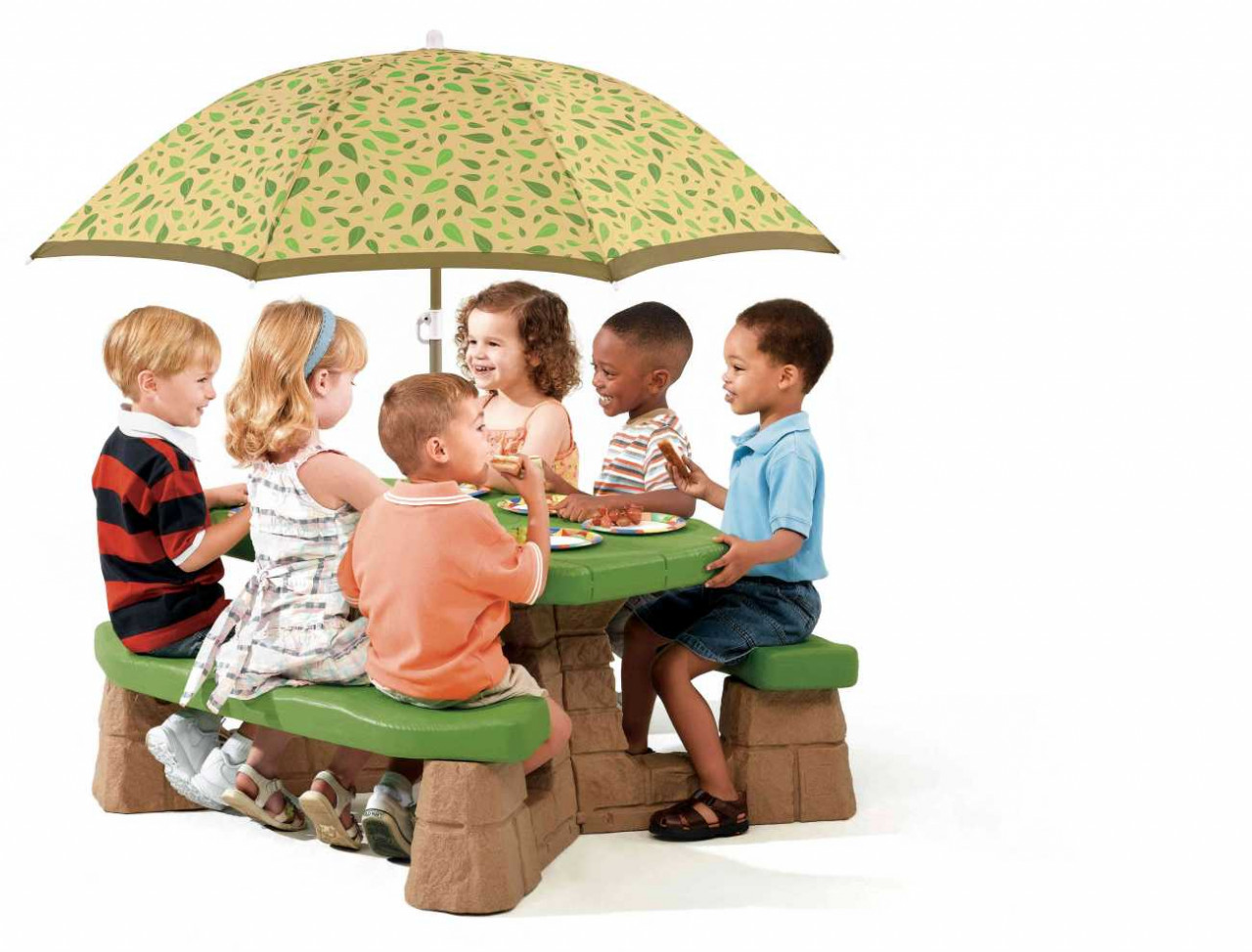 Picknicktisch Natural für Kinder