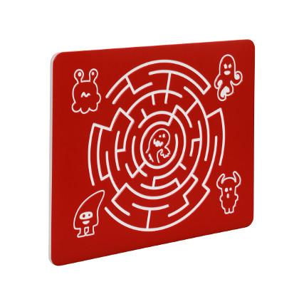 Spielwand, Spieltafel, Kinder, Motorik, Labyrinth Rund