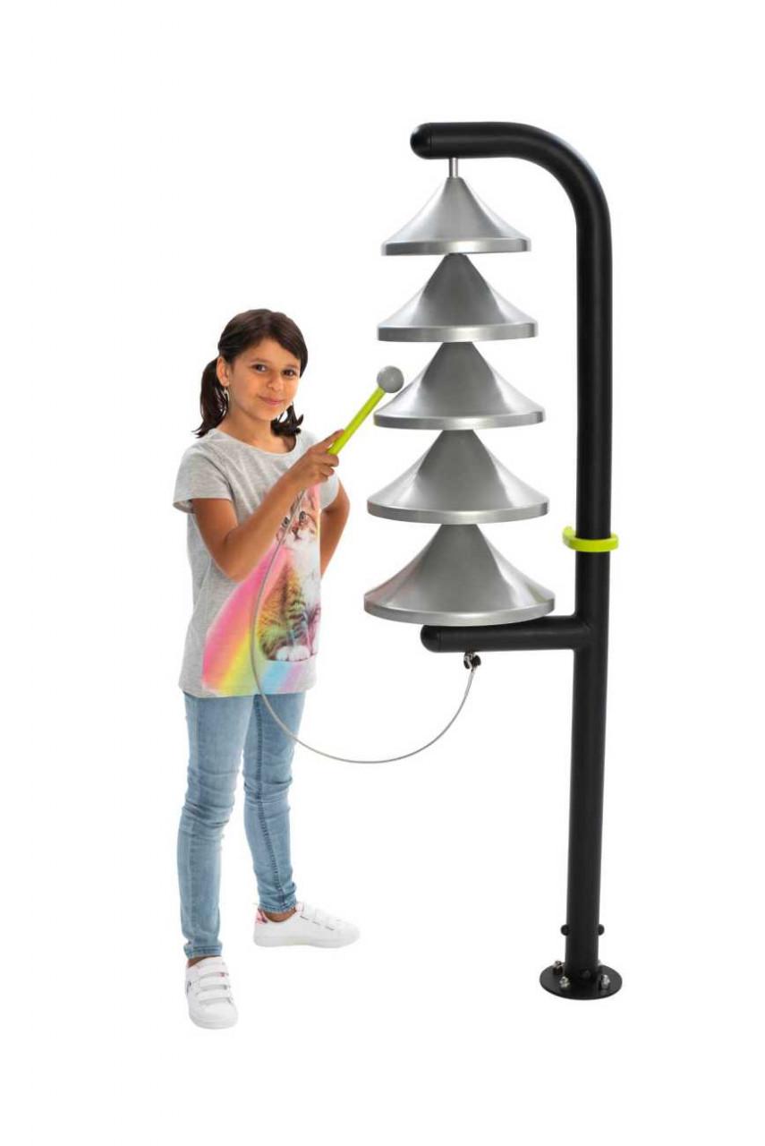 Outdoor Glockenspiel Monk für Spielplätze, Parkanlagen und Gärten