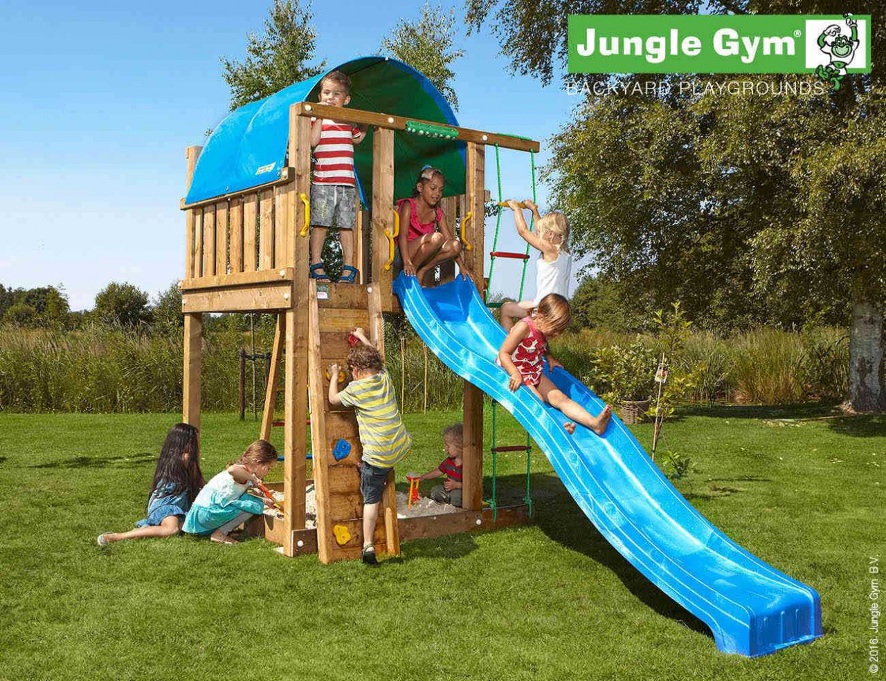 Kletterturm Jungle Gym Villa