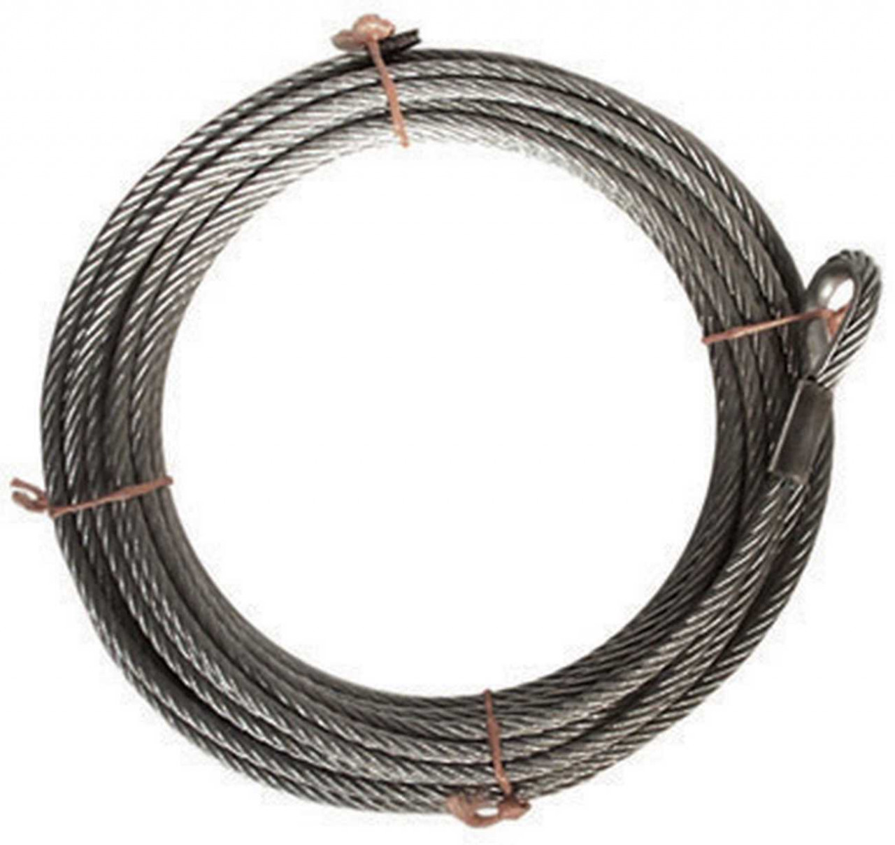 Tragseil, Stahlseil, für Seilbahn, nach DIN EN 1176, 35 m lang