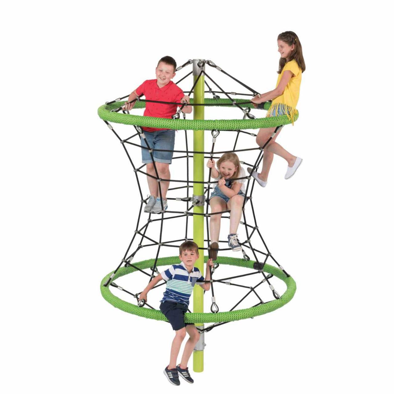 Klettergerüst Kletterpyramide, Kletternetz, Perry, Kinder Spielplatz