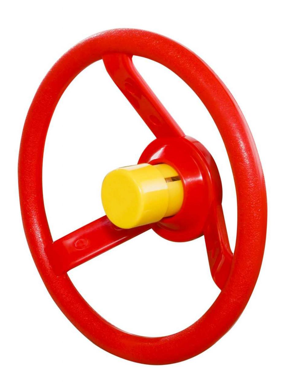 Lenrad rot mit Hupe