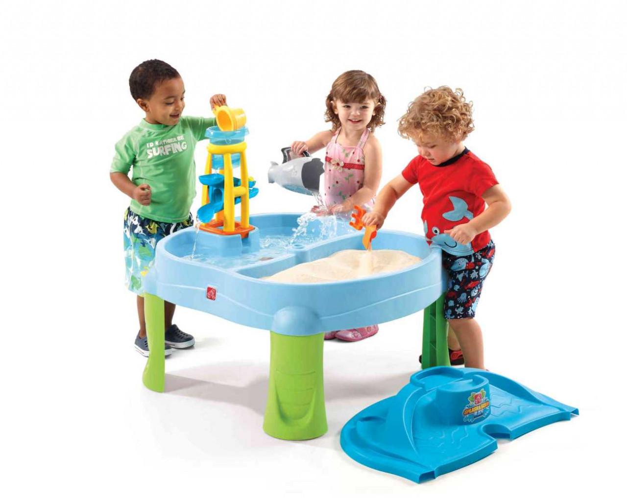 Sand- und Wasserspieltisch Splash & Scoop Bay