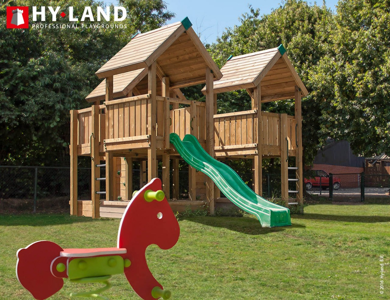 Spielturm Hy-Land P8 in Douglasie