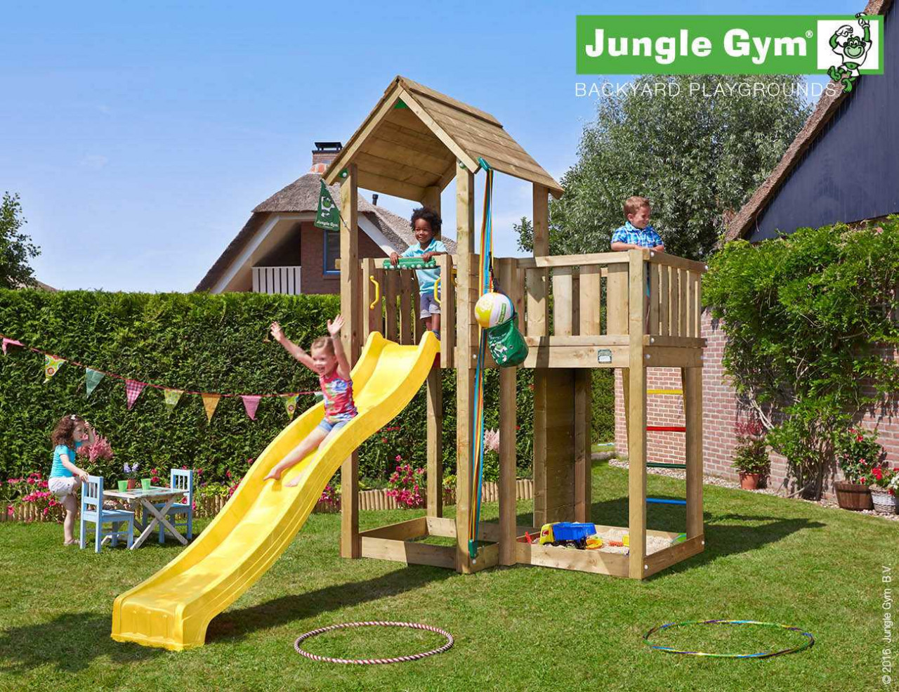 Kinder Spielturm Jungle Gym Mansion