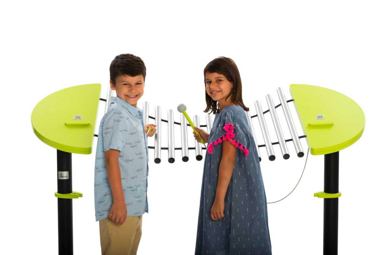 Merimba Calypso, Outdoor Musikinstrument, für Spielplätze und Parkanlagen
