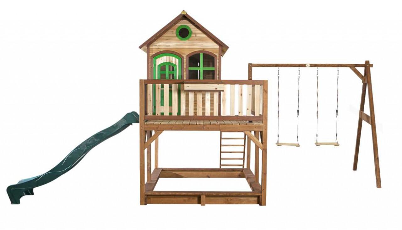 Axi Stelzenhaus Liam mit 2-Schaukel, Kinder Spielhaus