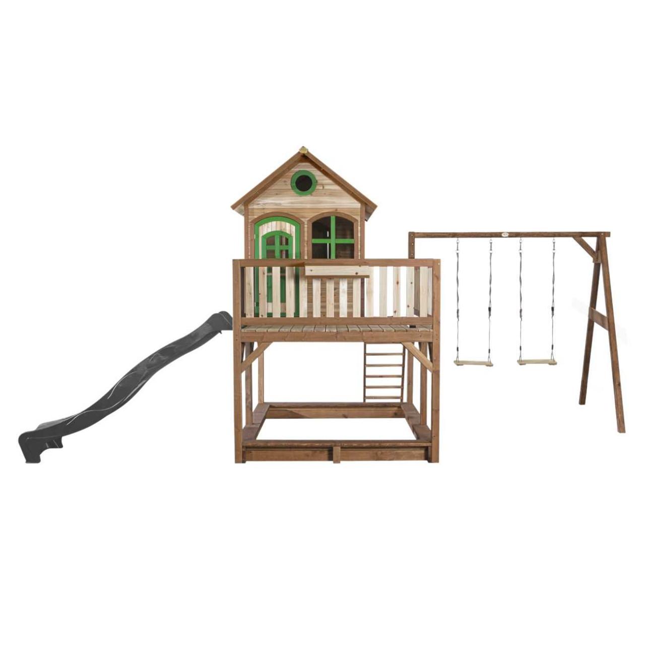 Axi Stelzenhaus Liam mit 2-Schaukel, Kinder Spielhaus, Spielturm