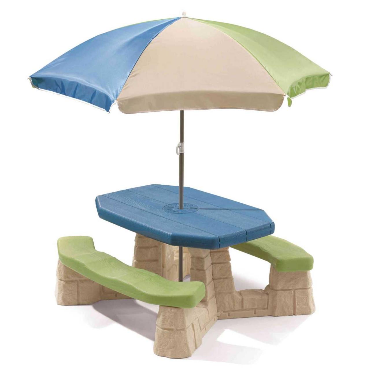 Picknicktisch Aqua
