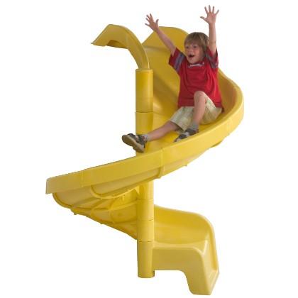Spiralrutsche für 1,50 m Podesthöhe, Kinder, Spielturm, Rutsche, Spirale