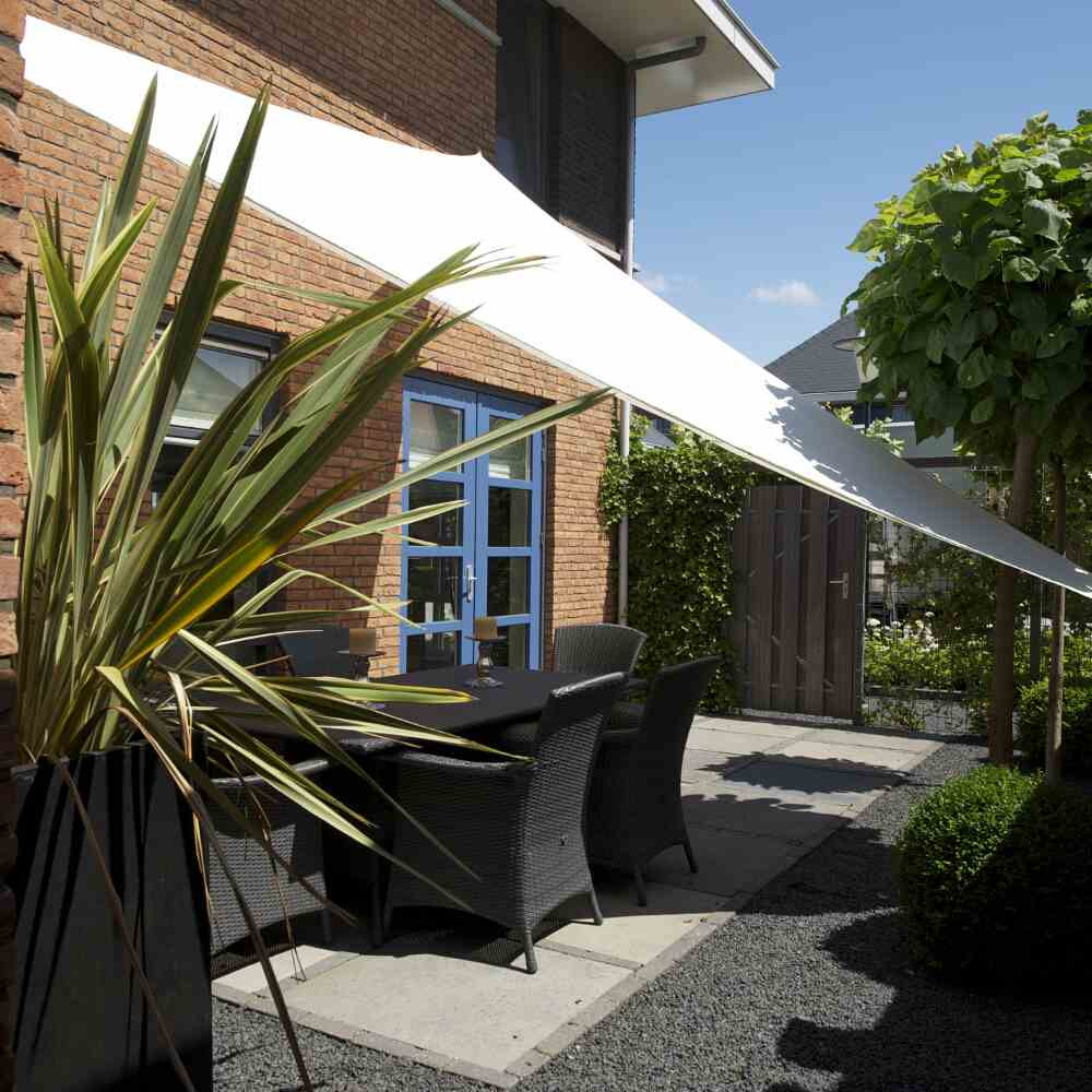 wasserabweisendes Sonnensegel Draimsail von Nesling, Quadrat, 400 x 400 cm