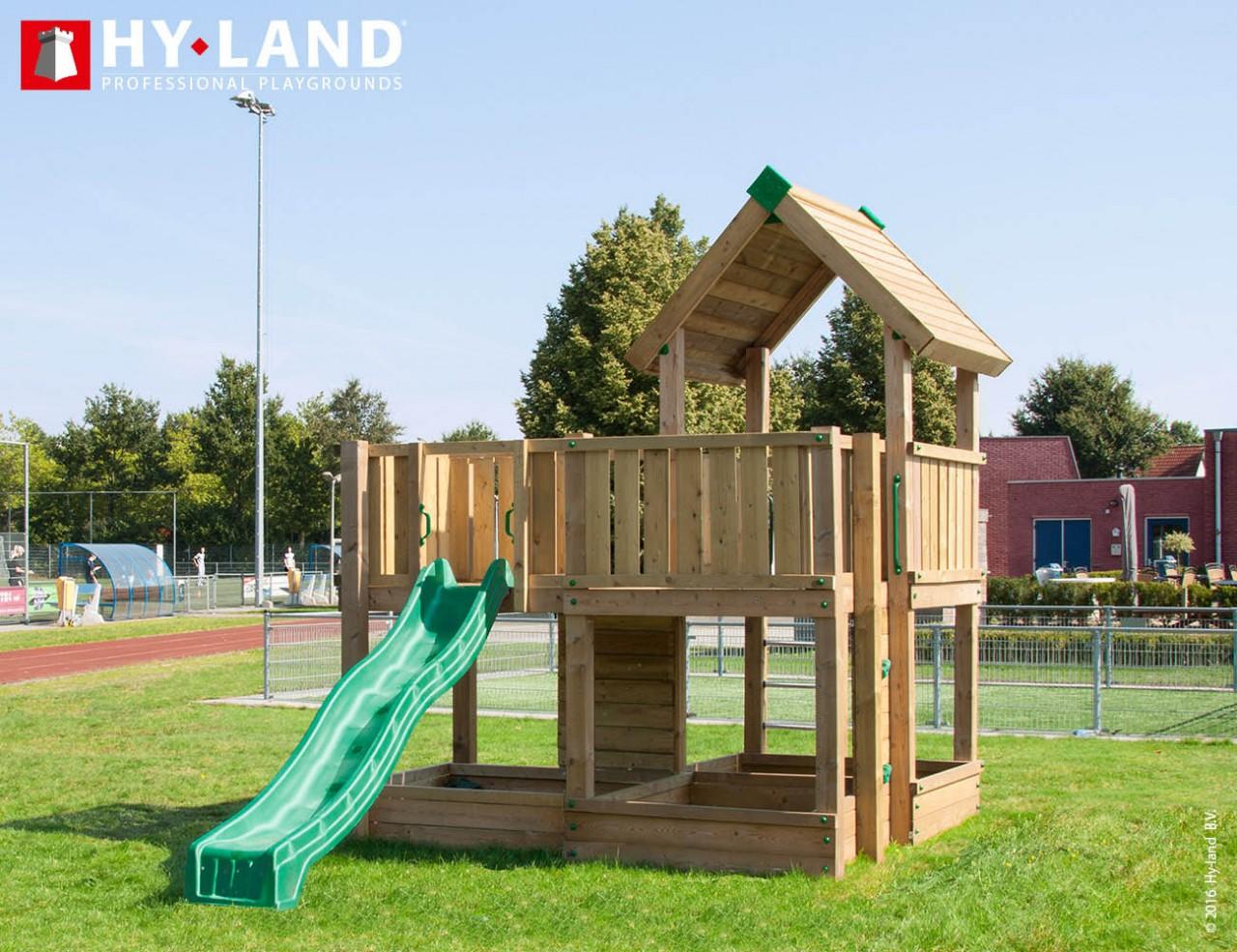 Spielturm Hy-Land P5 in Douglasie