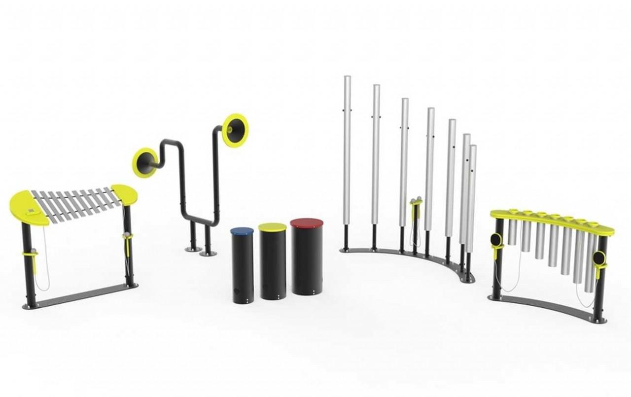 Sounds of Life Set - Musikinstrumente für Spielplätze und Parks
