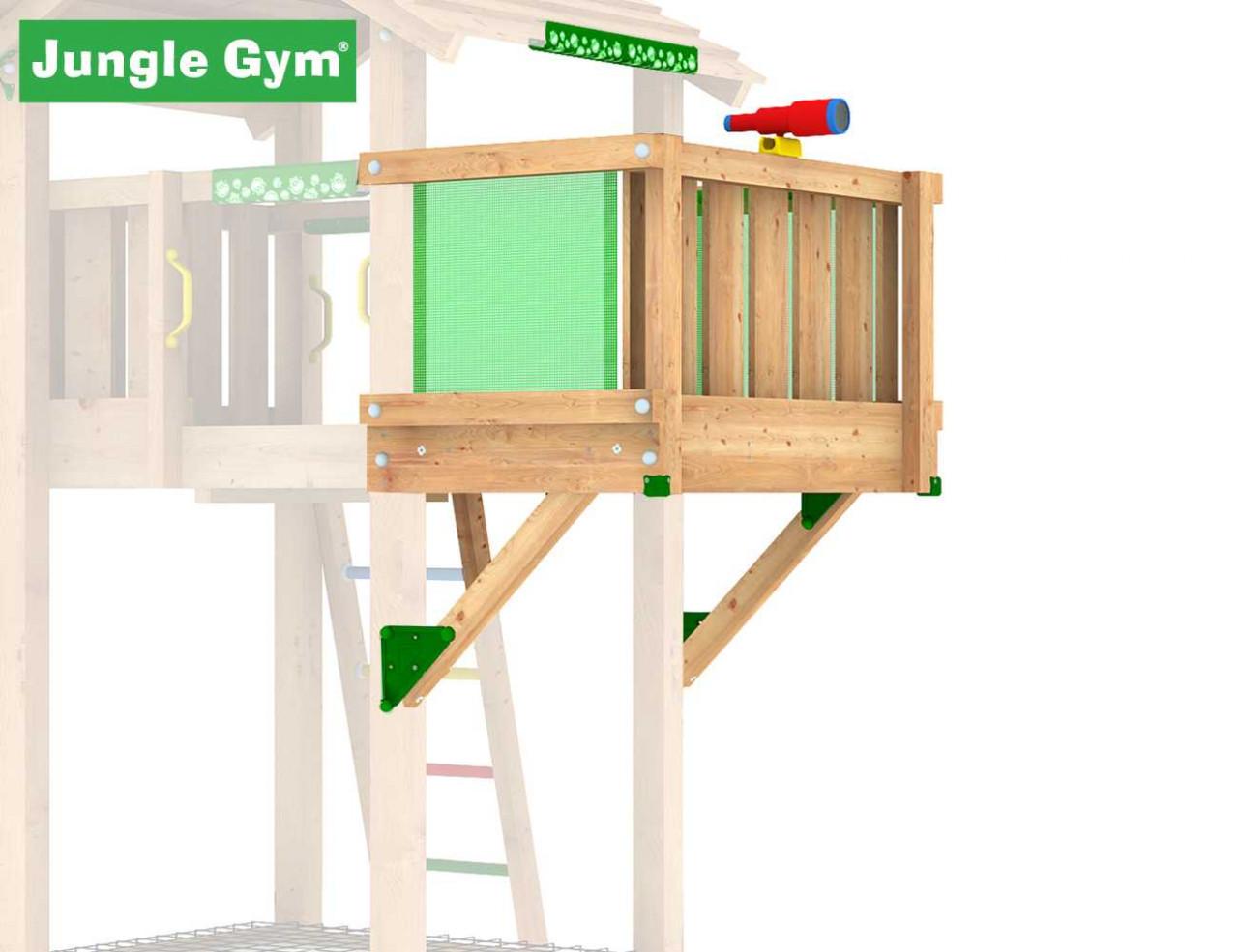 Jungle Gym Balkon-Modul in Douglasie natur