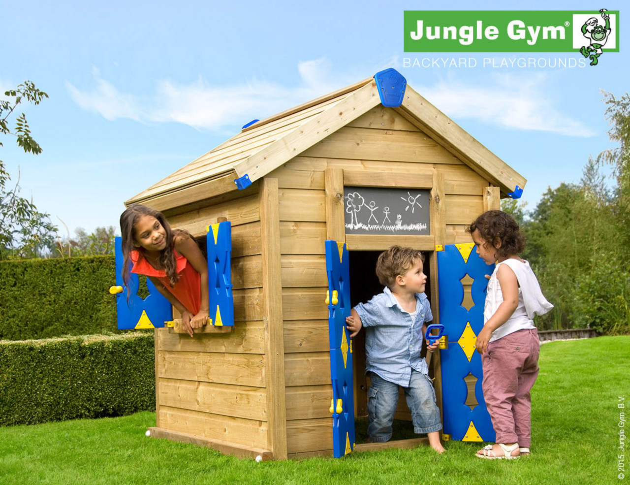 Kinder Spielhaus Jungle Gym Playhouse