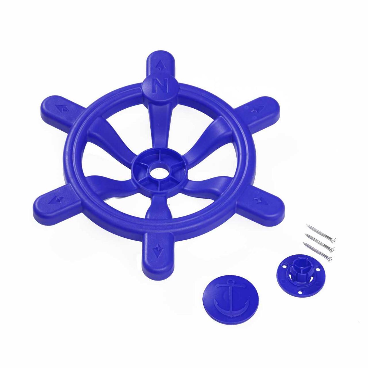Spielturm Lenkrad Diamant blau 36 cm Ø