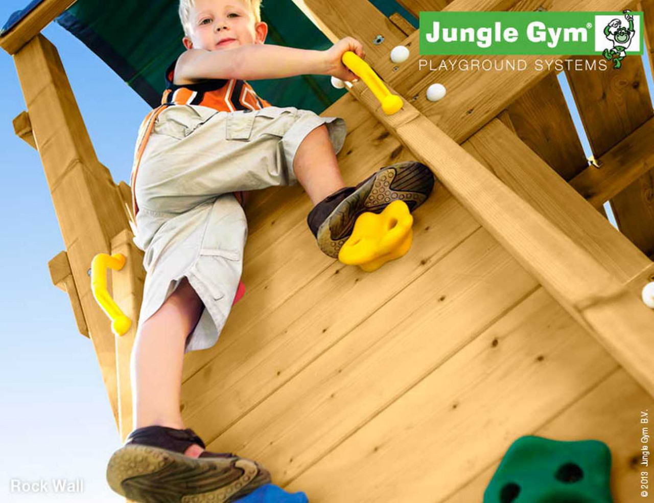 Jungle Gym Rock-Modul in Douglasie natur