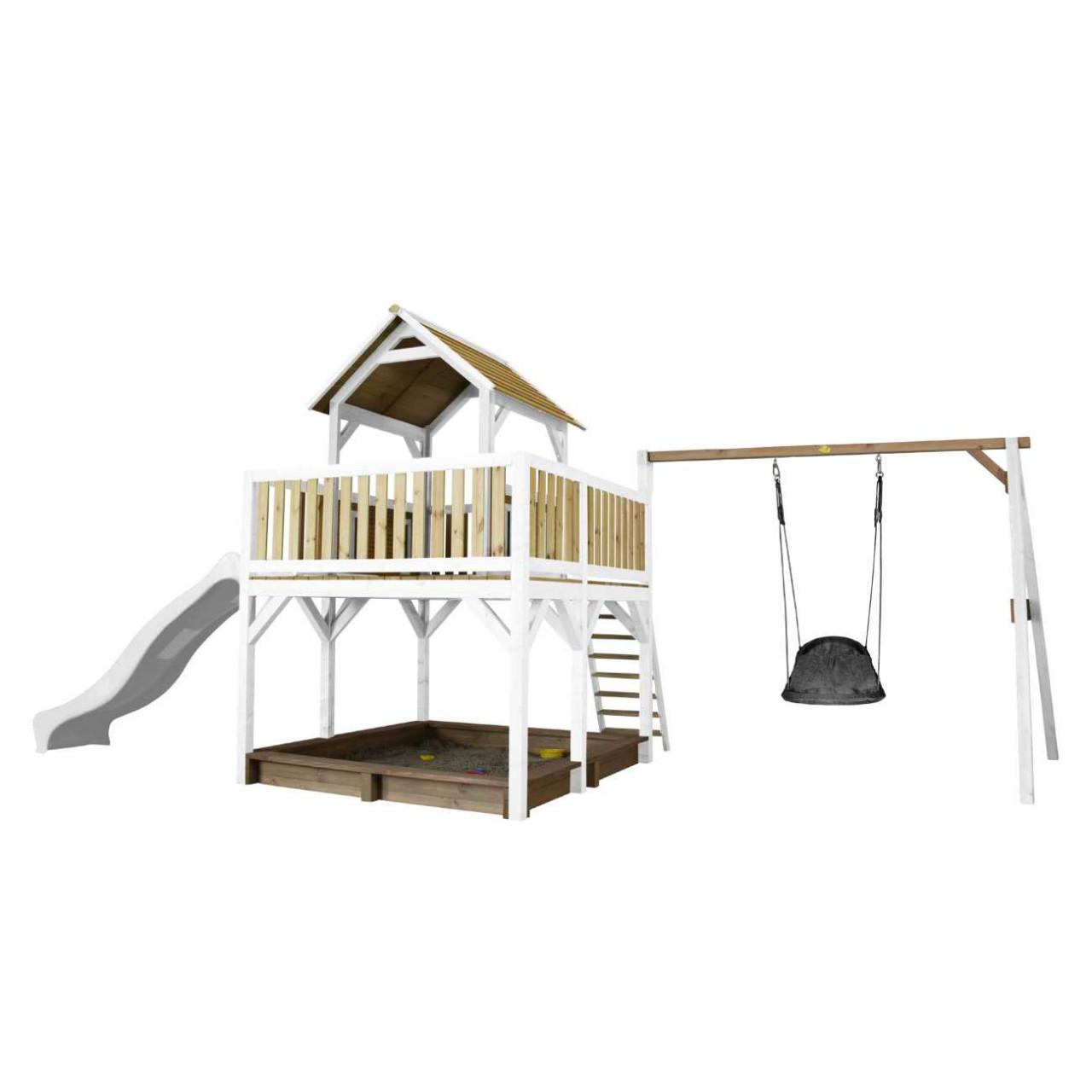 Spielturm Atka mit Nestschaukel Grandoh, Axi Spielturm, Kinder