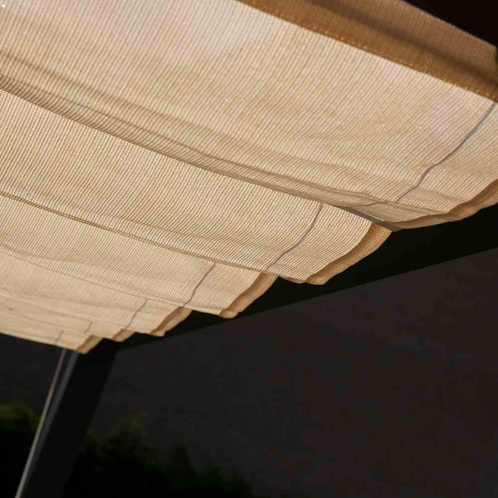 Coolfit Faltsonnensegel von Nesling 2,0 x 3,0 m, Beschattung, Sonnenschutz, verstellbar
