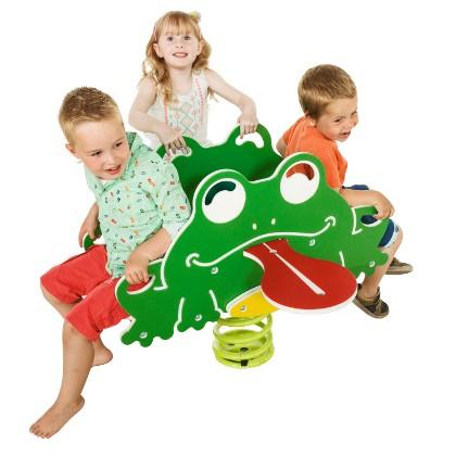 Federtier, Wipptier, Froschquartett für 4 Kinder