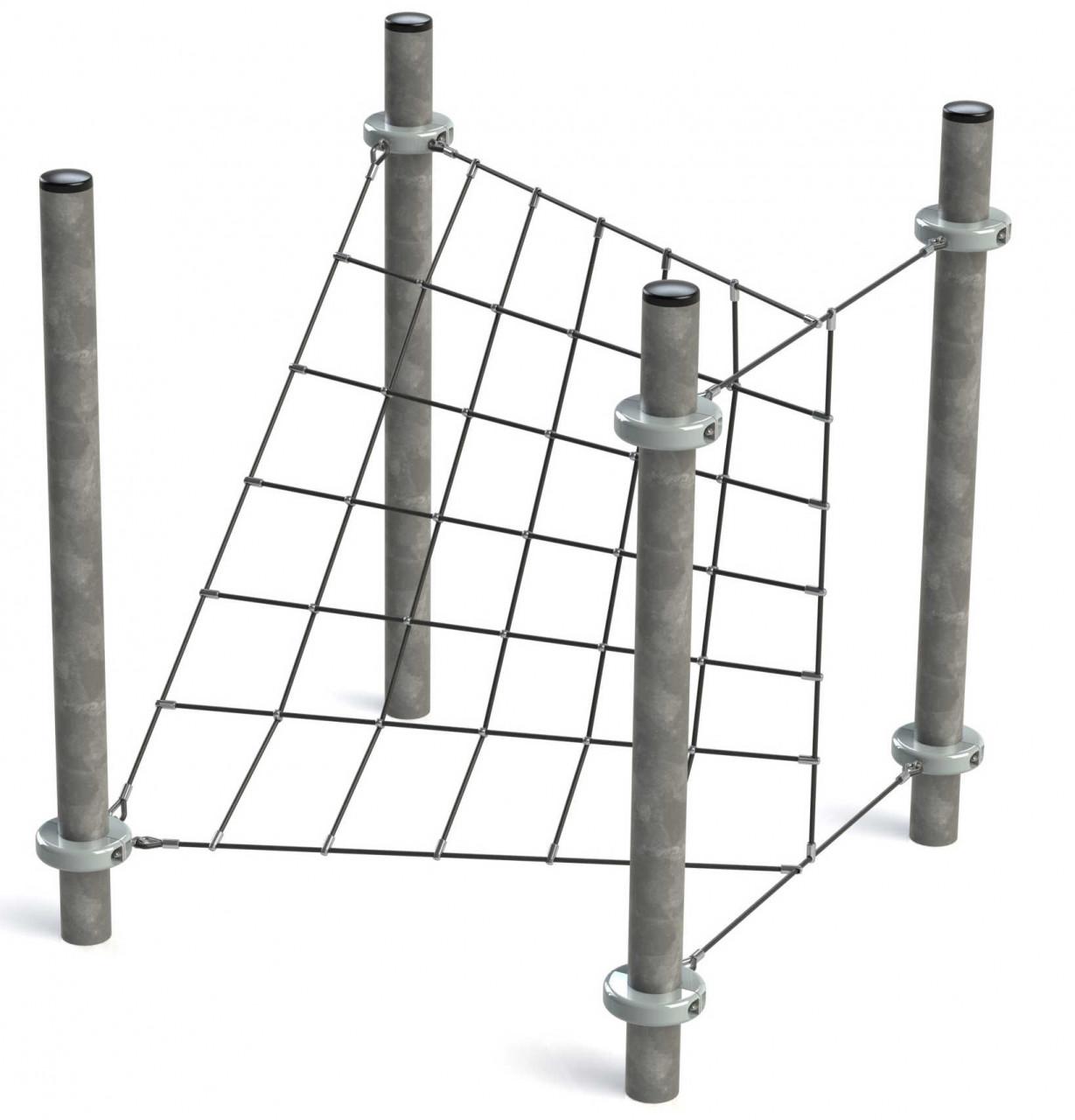 Klettergerüst Kletternetz Veil für Kinder Spielplätze und Abenteuerplätze