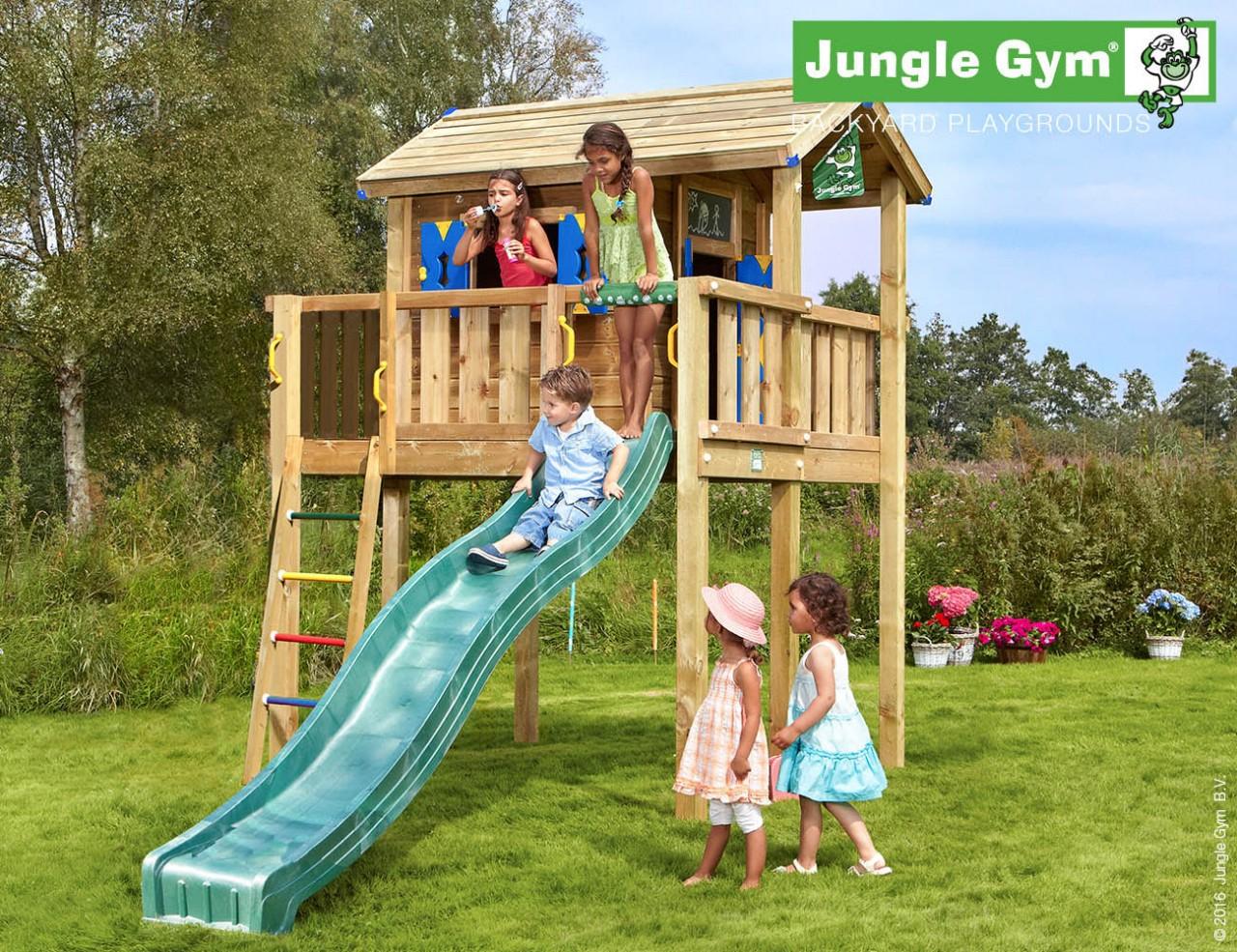 Stelzenhaus Kinder Playhouse XL von Jungle Gym in Douglasie