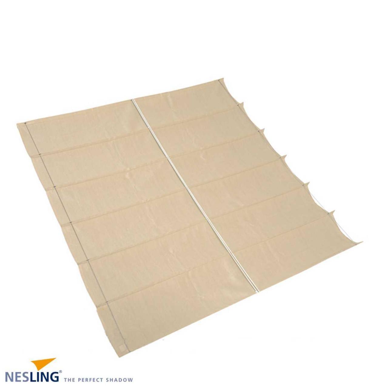 Faltsonnensegel von Nesling 290 x 500 cm, Sonnensegel, verstellbar, Sonnenschutz