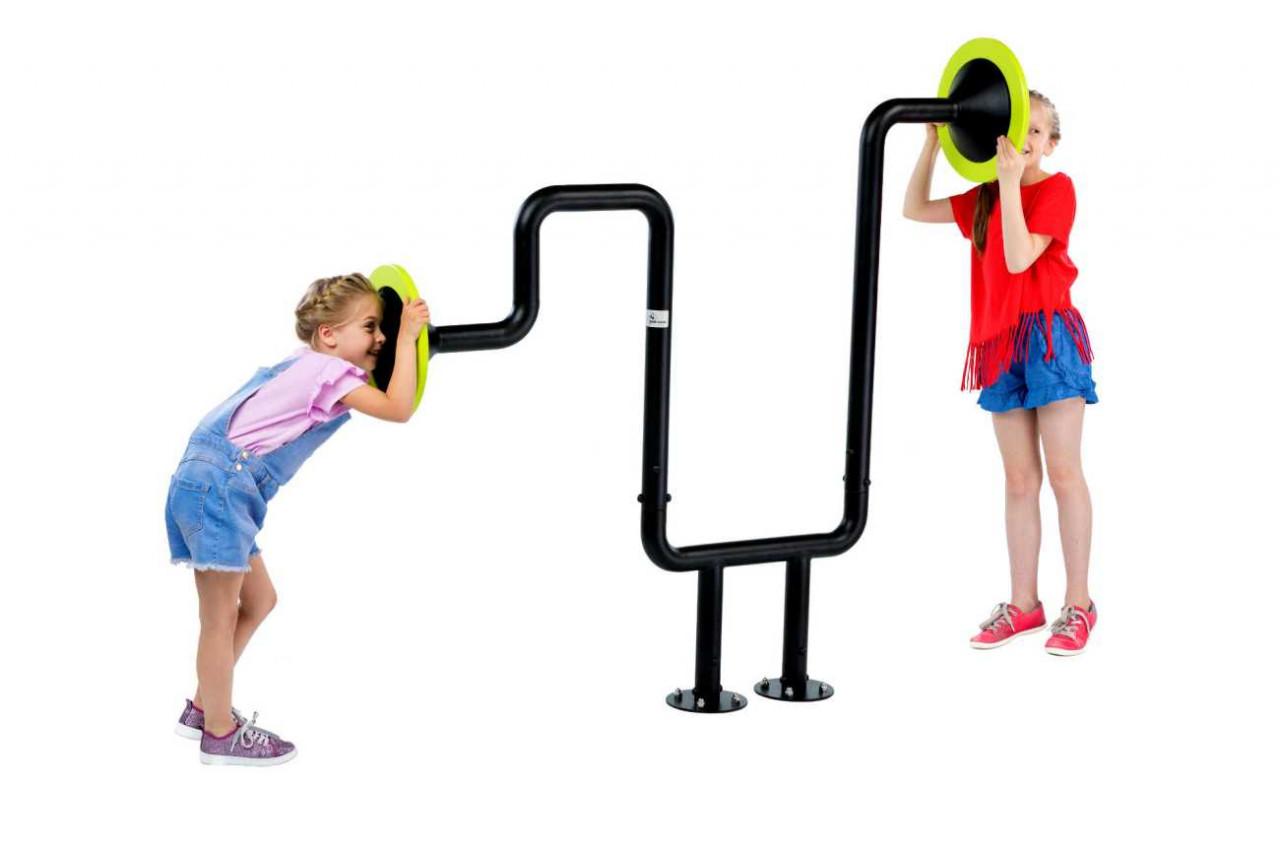 Resonanzröhren Echo I für Kinderspielplätze, Schulen, Kindergärten und Parkanlagen