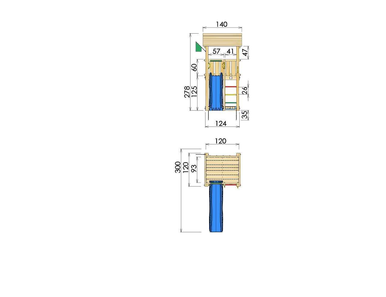 climbing-frames-for-small-gardens-jungle-casa-dimensions