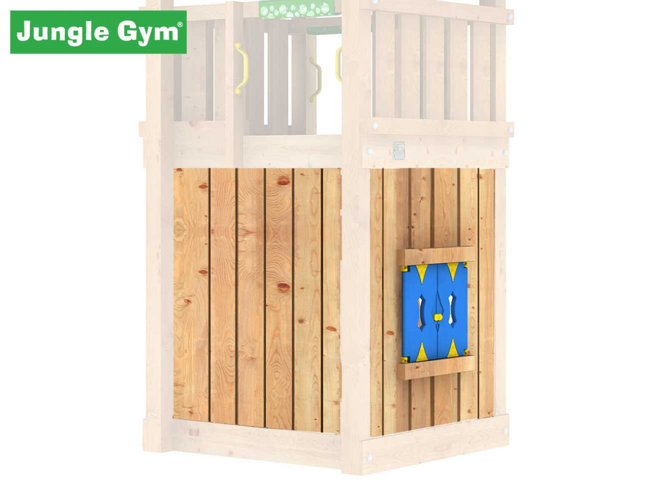 Jungle Gym Playhouse-Modul, Spielhaus-Modul in Douglasie natur