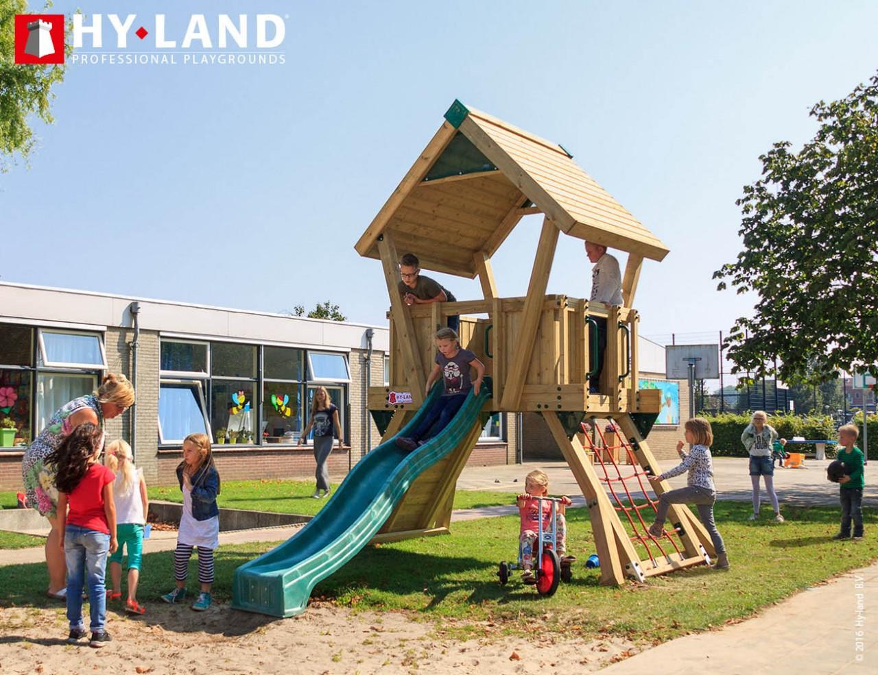 Spielturm Hy-Land Q2 in Douglasie