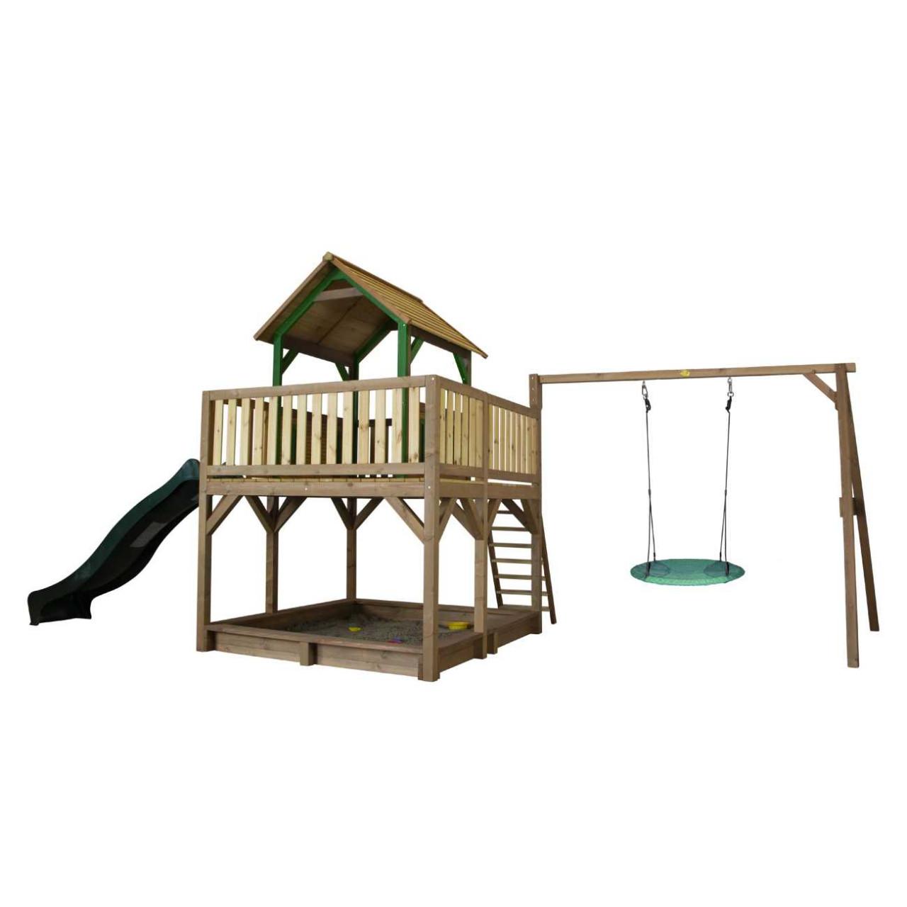 Spielturm Atka mit Nestschaukel Winkoh, Axi Spielturm, Kinder