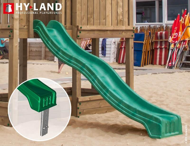 Spielturm Hy-Land Q4 in Douglasie