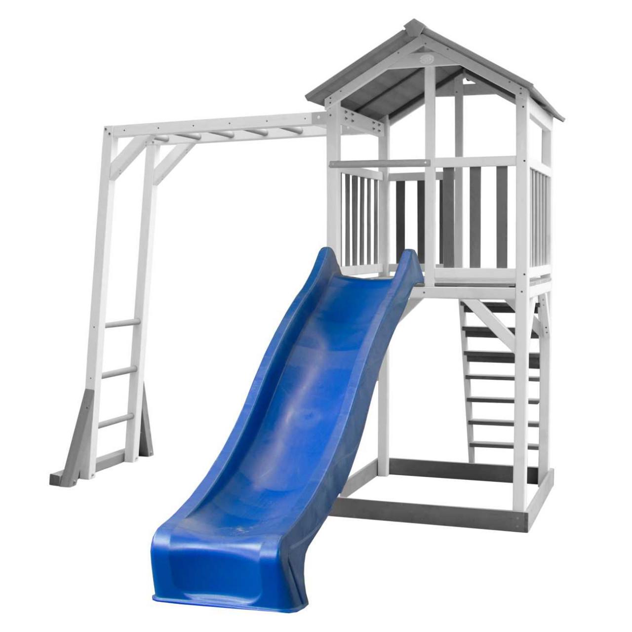 Spielturm Beach Tower Rutsche 2,30 m + Hangelleiter