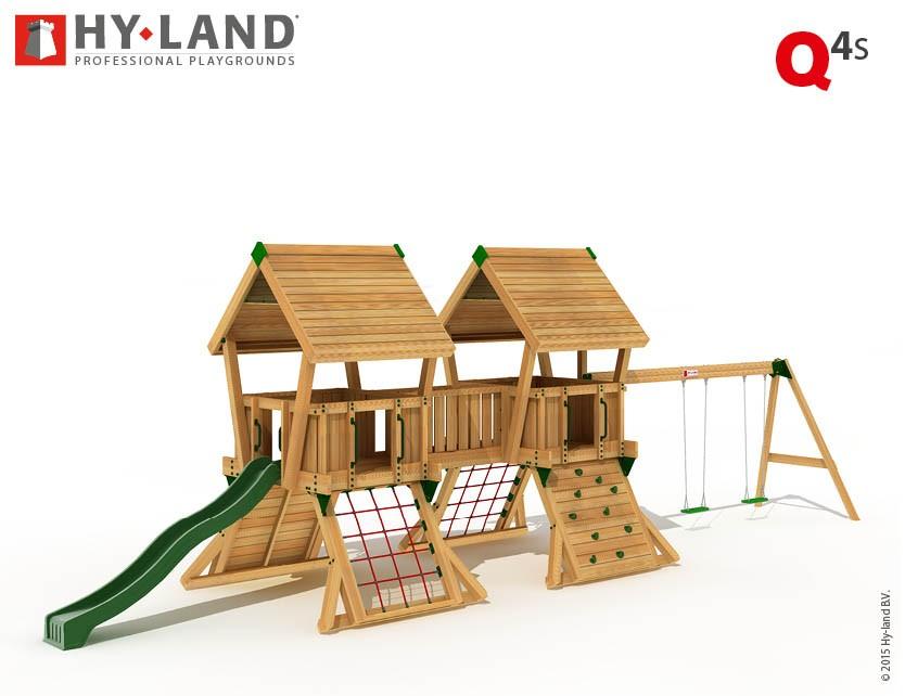 Spielturm Hy-Land Q4-S