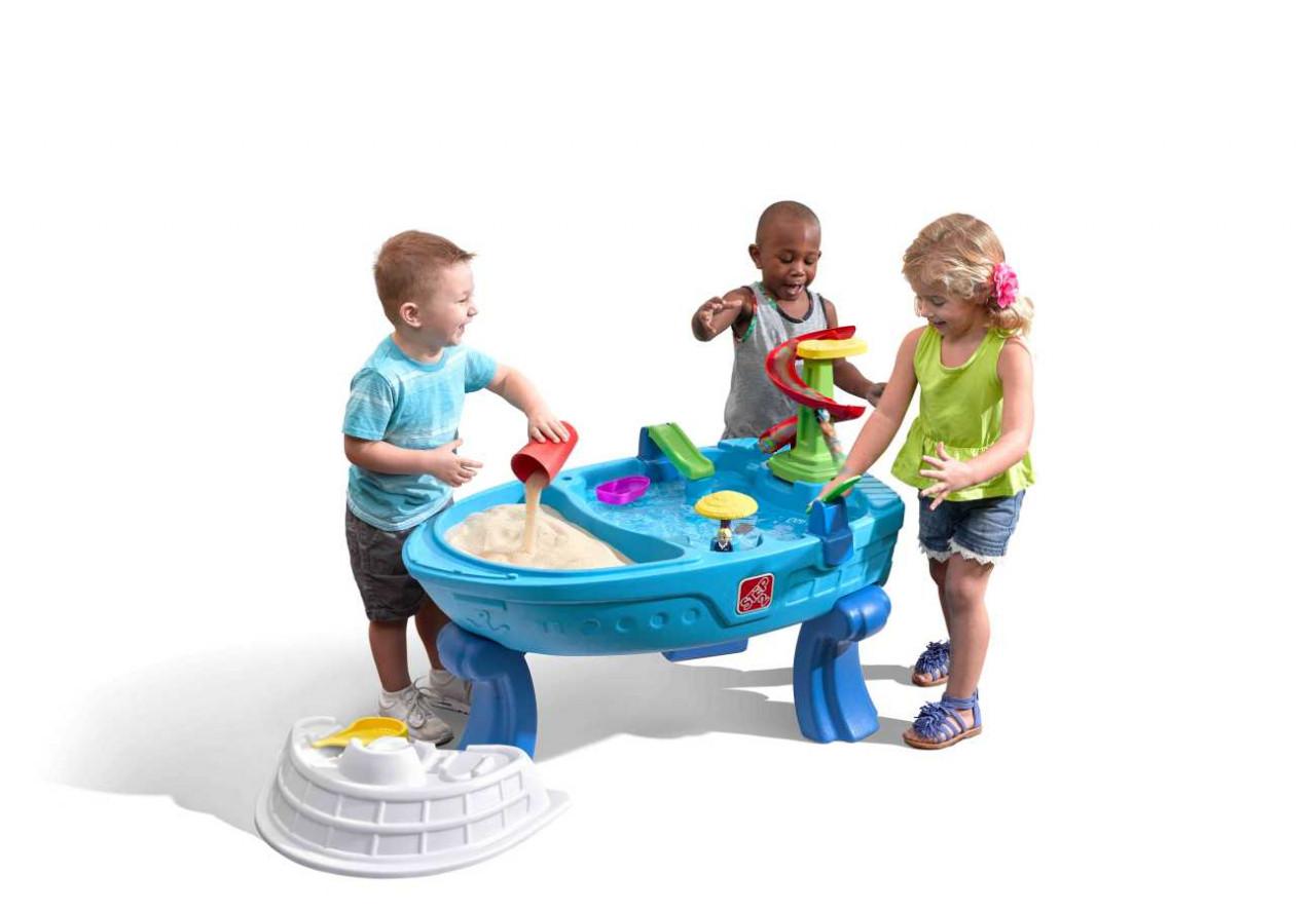 Sand Wasser Spieltisch Fiesta Cruise