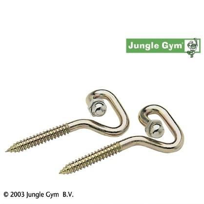 Jungle Gym Schaukelhaken LS zum Eindrehen, 2 Stück