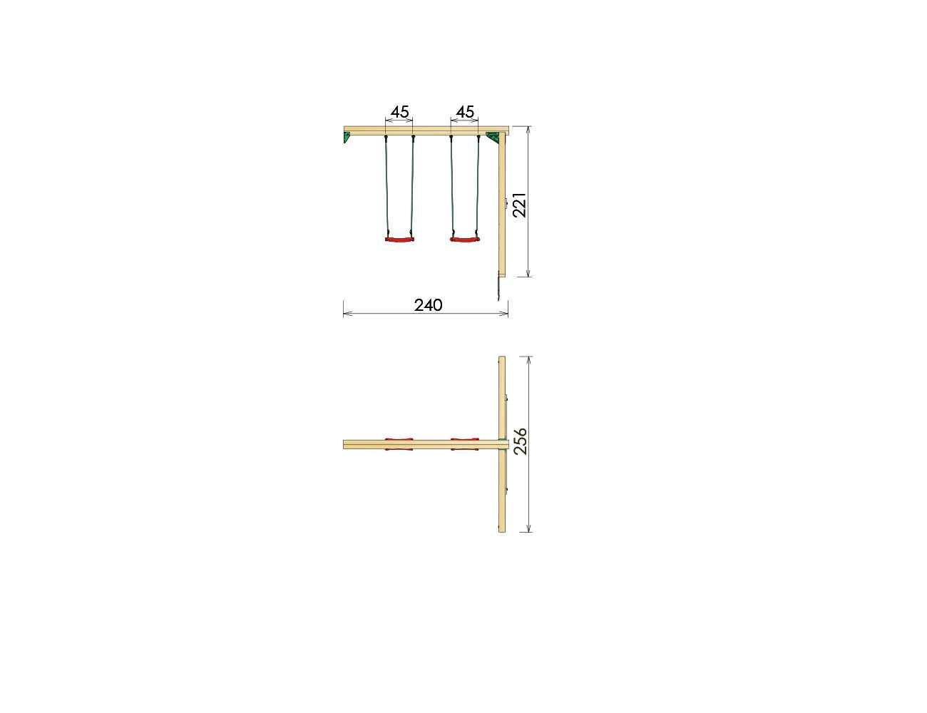 kids-swing-frame-2-swing-module-dimensions