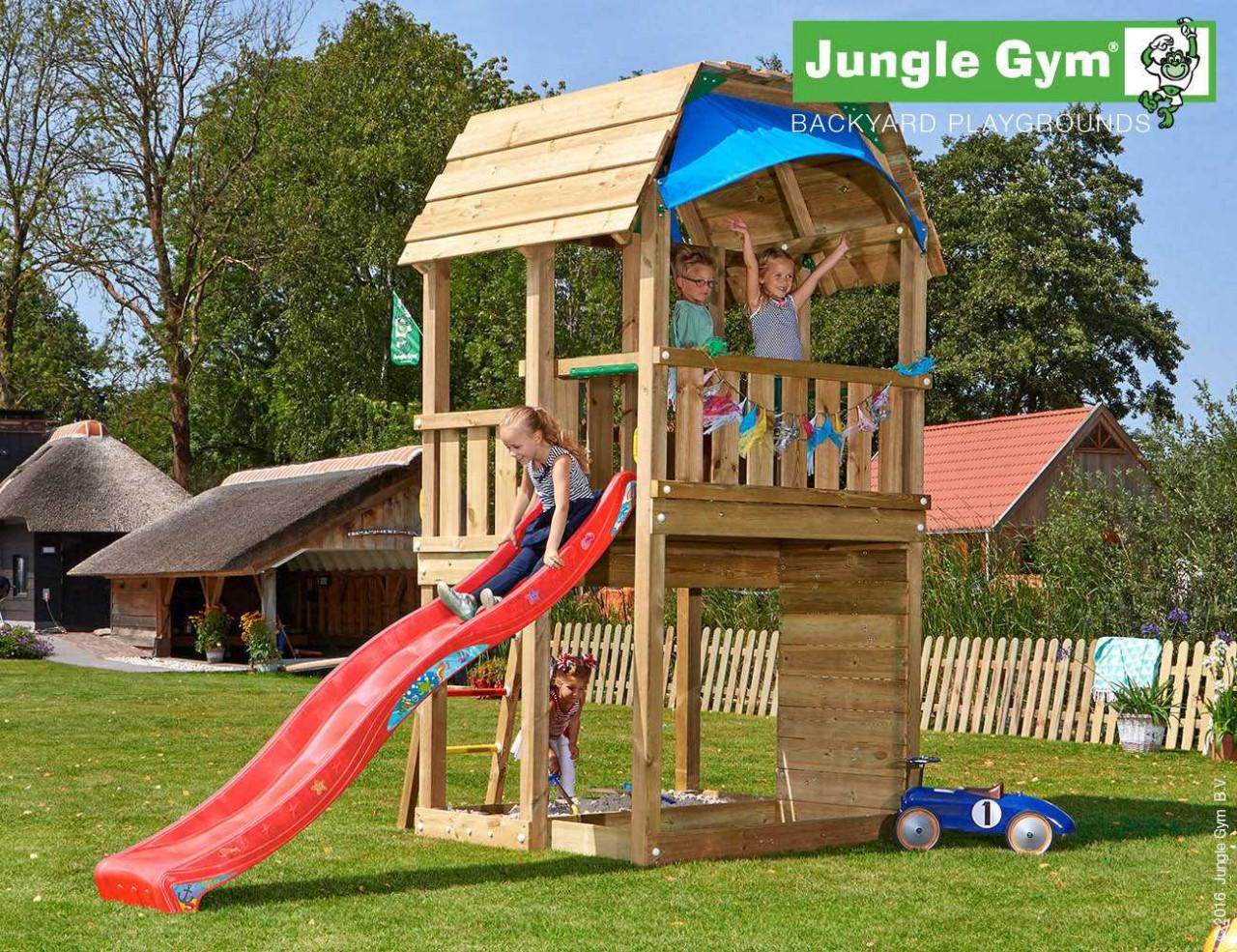 Klettergerüst Jungle Gym : Jungle gym klettergerüst barn kostenloser versand holz