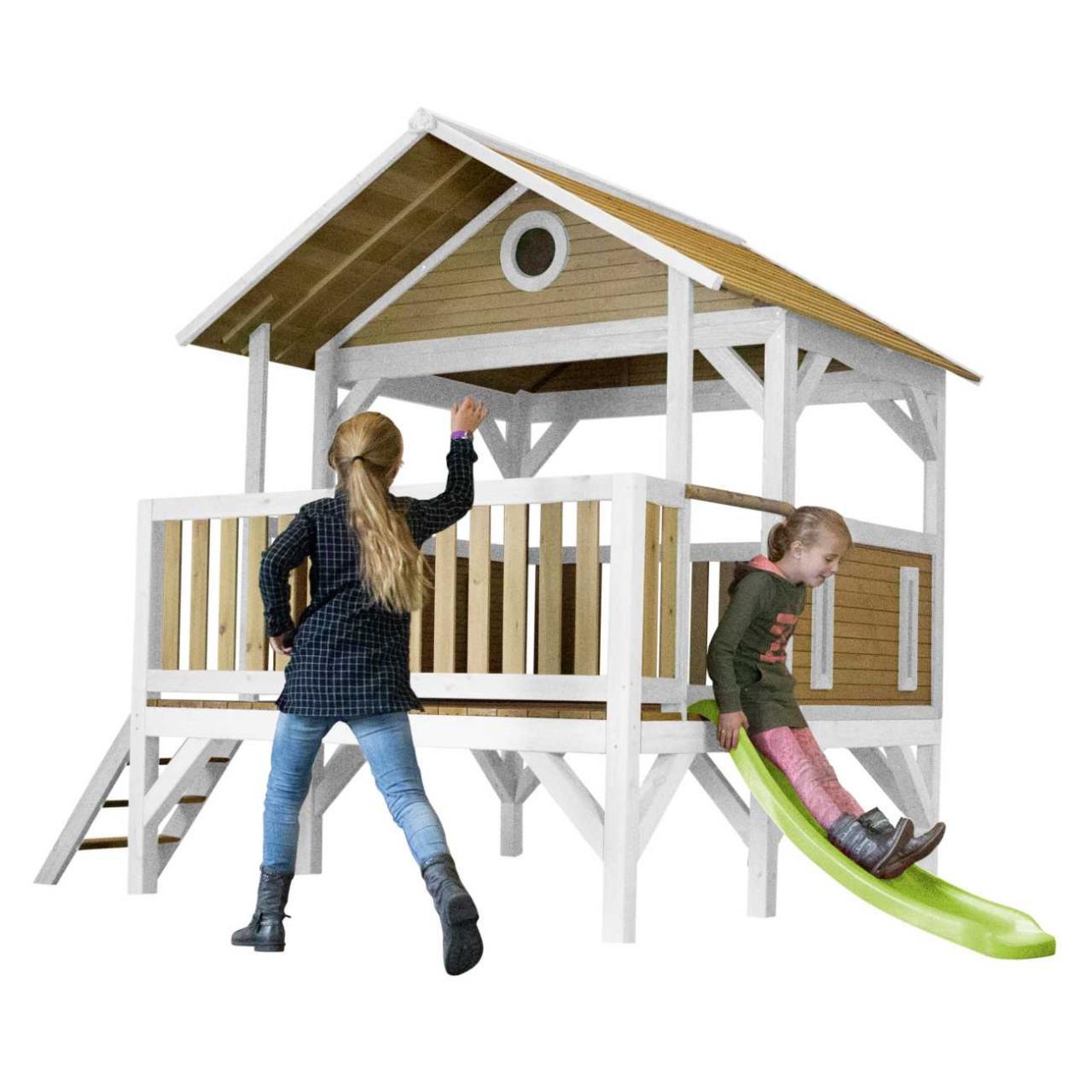 Spielhaus mit Rutsche Meeko, Axi Spielturm, Kinder