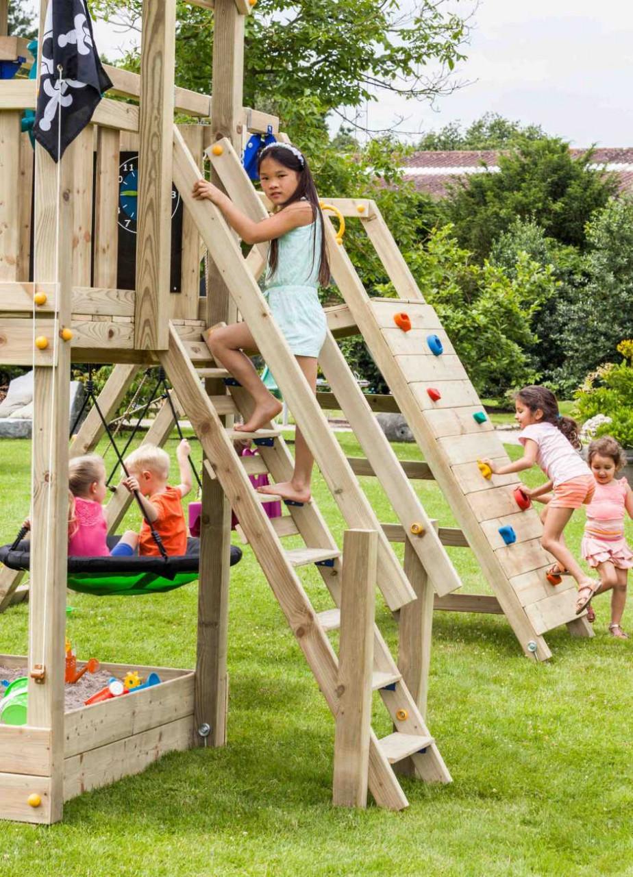 Spielturm Anbau Treppe @steps von Blue Rabbit