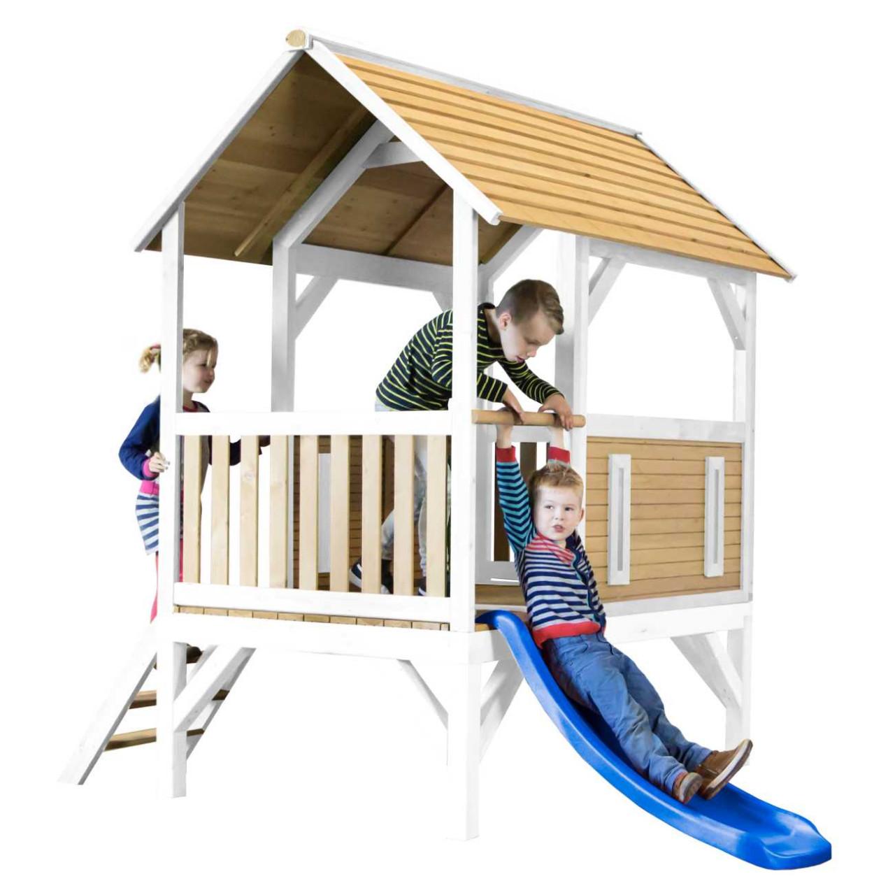 Kinder Spielhaus mit Rutsche Akela