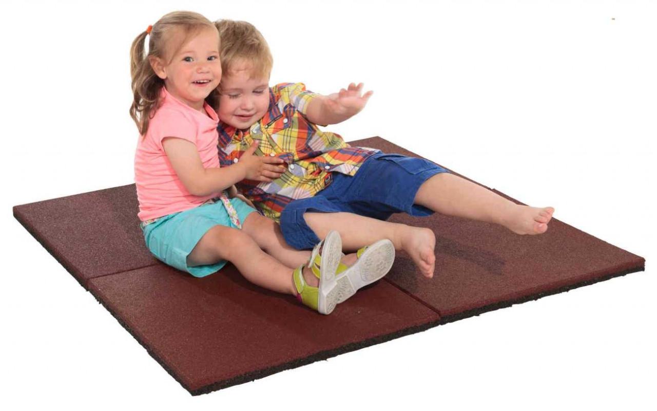 Fallschutzmatten, Fallschutzplatten, Gummimatten, für Spieltürme und s Schaukeln