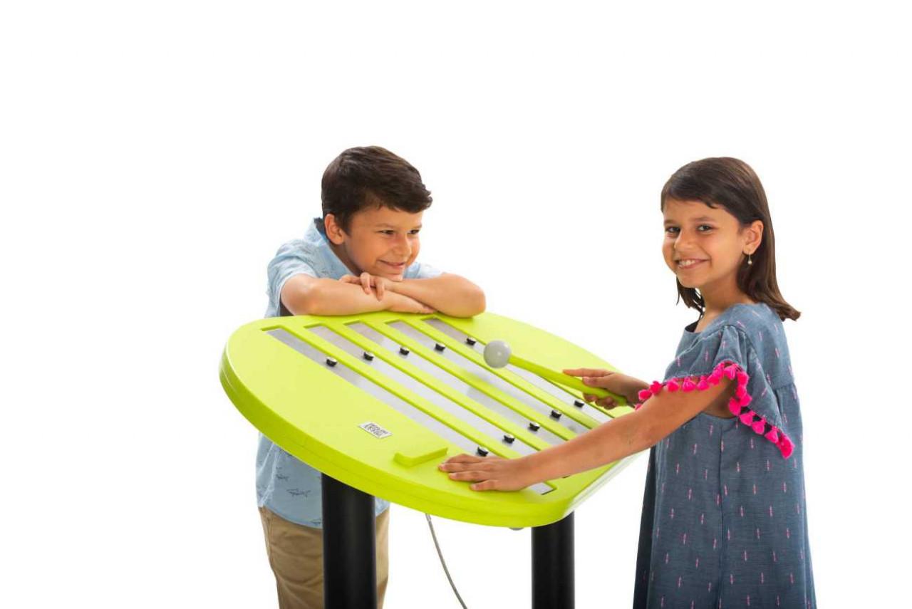 Outdoor Musikinstrument, Xylophon Echo Piano für Spielplätze und Parks