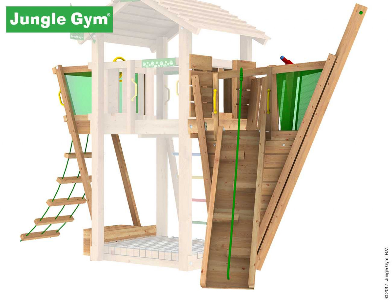Jungle Gym Boat-Modul
