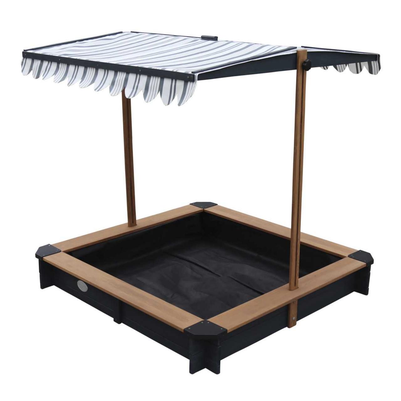 Axi Sandkasten Lily mit Dach, Sonnenschutz, für Kinder