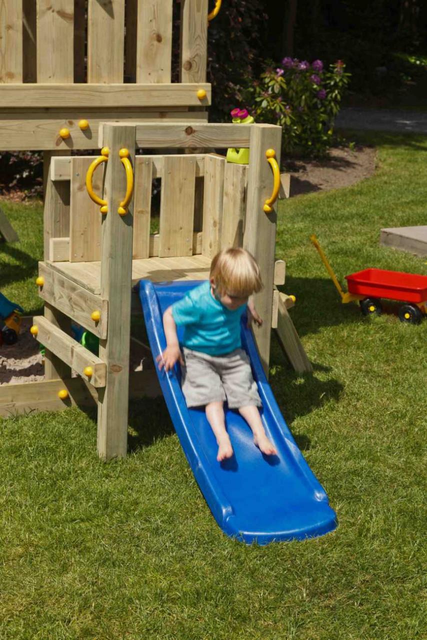 Spielturm Anbau Podest @platform von Blue Rabbit in Douglasie natur